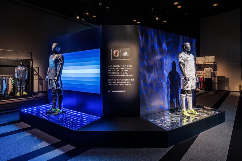 Adidas Japan National Football Team New Uniform Exhibition