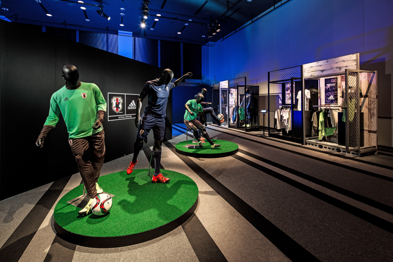 adidas Japan national football team new uniform exhibition (2)