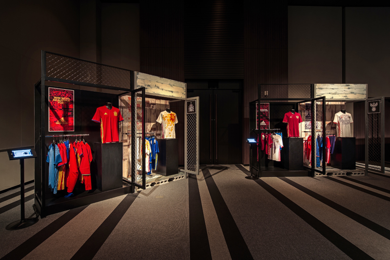 adidas Japan national football team new uniform exhibition (3)